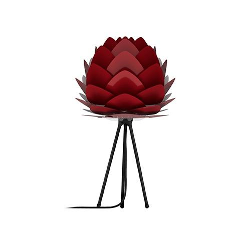 Fotografia, na której jest Lampka nocna / stołowa ALUVIA - UMAGE | ruby red