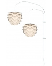 Lampa ścienna ALUVIA Willow Double - UMAGE | pearl white
