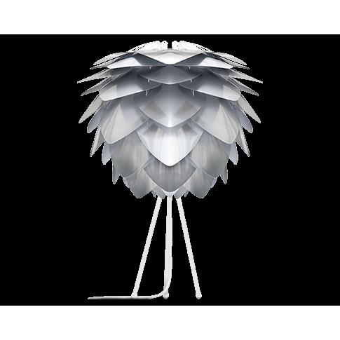 Fotografia, na której jest Lampka nocna SILVIA - UMAGE | polished steel white