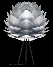 Lampka nocna SILVIA - UMAGE   polished steel black