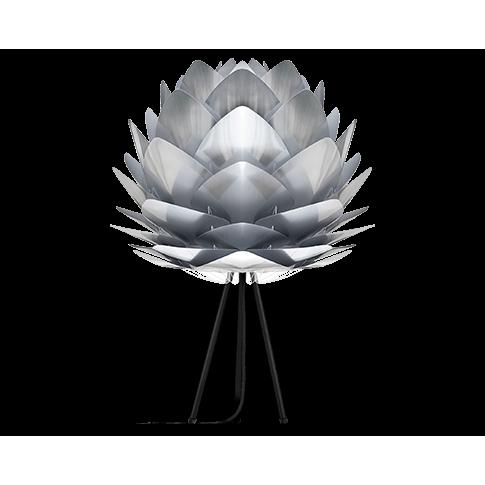 Fotografia, na której jest Lampka nocna SILVIA - UMAGE | polished steel black