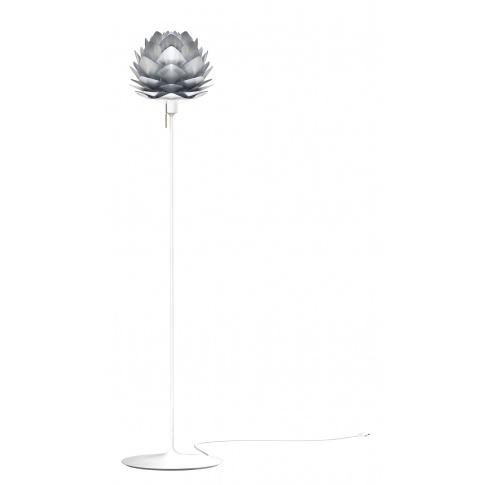 Fotografia, na której jest Lampa podłogowa SILVIA Champagne Floor - UMAGE | brushed steel