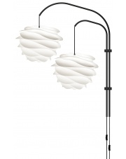 Lampa ścienna CARMINA Willow Double - UMAGE | pearl white