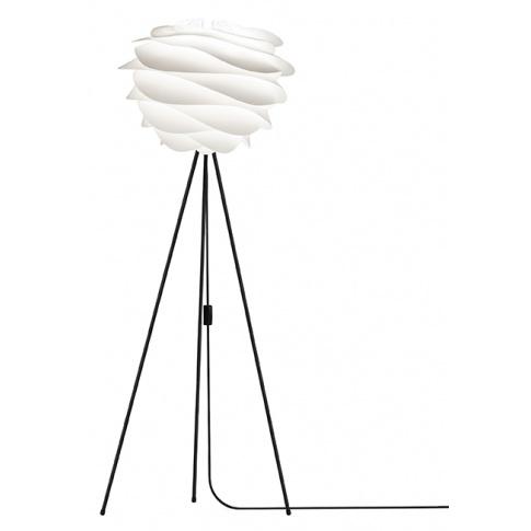 Fotografia, na której jest Lampa podłogowa CARMINA Floor Tripod - UMAGE | black & white