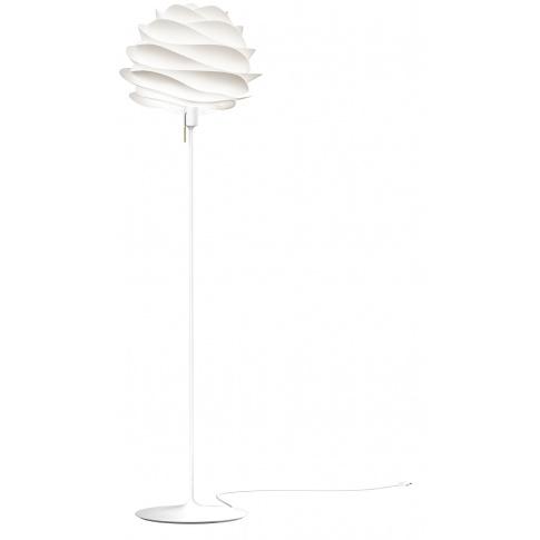 Fotografia, na której jest Lampa podłogowa CARMINA Champagne Floor - UMAGE | white