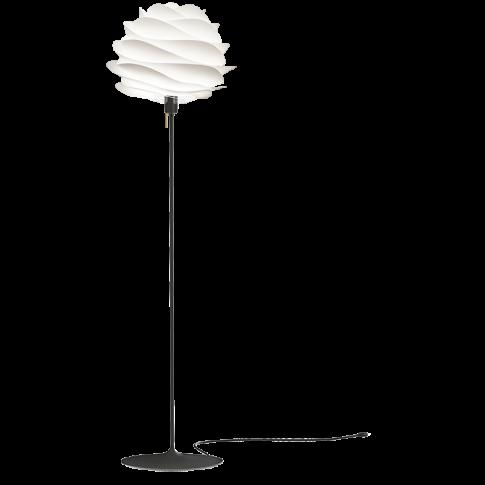 Fotografia, na której jest Lampa podłogowa CARMINA Champagne Floor - UMAGE | black & white