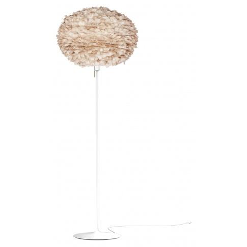 Fotografia, na której jest Lampa podłogowa Eos L Champagne Floor - UMAGE | light brown