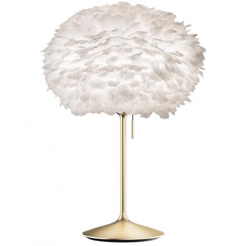 Fotografia, na której jest Lampka nocna Eos M Champagne Table - UMAGE | white