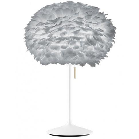 Fotografia, na której jest Lampka nocna Eos M Champagne Table - UMAGE | light grey