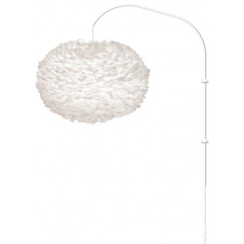 Fotografia, na której jest Lampa ścienna EOS XL Willow - UMAGE | white