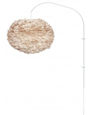 Lampa ścienna EOS L Willow - UMAGE | light brown