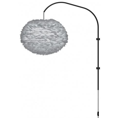 Fotografia, na której jest Lampa ścienna EOS L Willow UMAGE | light grey