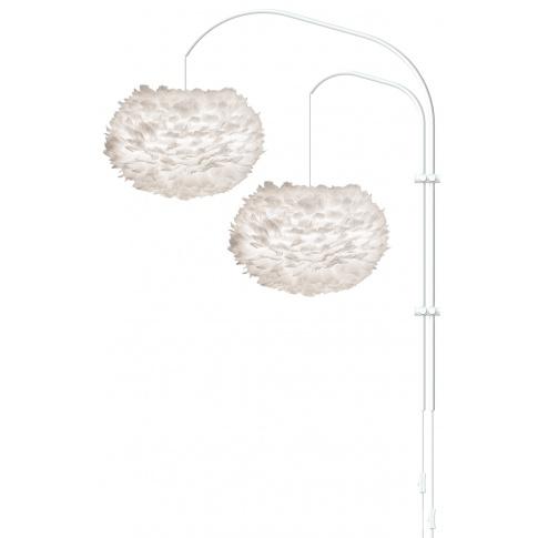 Fotografia, na której jest Lampa ścienna EOS M Willow Double - UMAGE | white