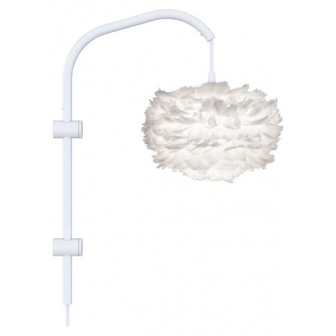 Fotografia, na której jest Lampa ścienna EOS Willow mini - UMAGE | white