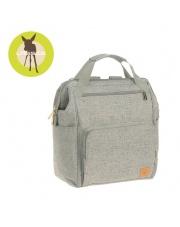 Lassig Green Label Plecak dla mam z akcesoriami Goldie Backpack Bouclé beige
