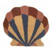 Fotografia, na której jest Dywanik wełniany / dekoracja ścienna MUSZLA - ferm LIVING