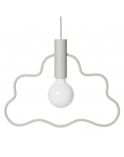 Minimalistyczna lampka wisząca CHMURKA / Cloud Pendant - ferm LIVING