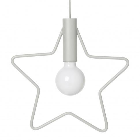 Fotografia, na której jest Minimalistyczna lampka wisząca GWIAZDKA / Star Pendant - ferm LIVING