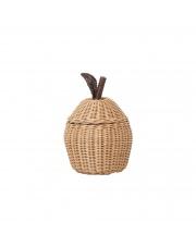 Kosz pleciony JABŁKO / Apple Basket - ferm LIVING | mały