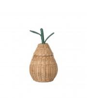 Kosz pleciony GRUSZKA / Pear Basket - ferm LIVING | mały