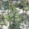 Fotografia, na której jest Fototapeta REBEL WALLS | Secret Garden, Lush