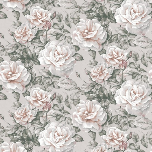 Fotografia, na której jest Fototapeta REBEL WALLS | Nude Roses