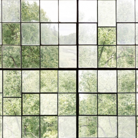 Fotografia, na której jest Fototapeta REBEL WALLS | Factory Window