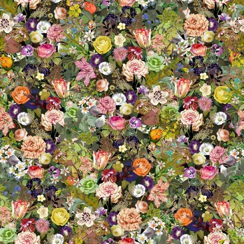 Fotografia, na której jest Fototapeta REBEL WALLS | Meadow, Color