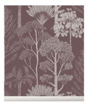 Tapeta flizelinowa TREES / DRZEWA -  Katie Scott & ferm LIVING | mahogany