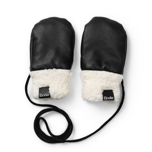 Fotografia, na której jest Elodie Details - Rękawiczki - Aviator Black 0-12 m-cy