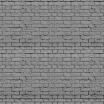 Fotografia, na której jest Fototapeta REBEL WALLS | Soft Bricks, Grey