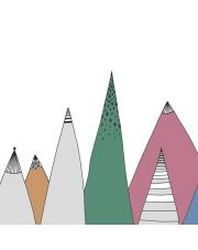 Fototapeta REBEL WALLS | Mountain Ridge, Color