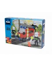 Plus-Plus, Mini Basic - 480 szt. - Wóz strażacki i strażacy