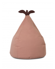 Puf bawełniany GRUSZKA / Pear Bean Bag - ferm LIVING | różowy