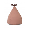 Fotografia, na której jest Puf bawełniany GRUSZKA / Pear Bean Bag - ferm LIVING | różowy