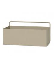Kwietnik / półka ścienna WALL BOX L - ferm LIVING | cashmere