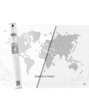Mapa Zdrapka LOFT WHITE - mapsy.me