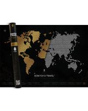 Mapa Zdrapka LOFT BLACK - mapsy.me