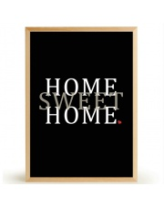 Plakat HOME SWEET HOME - FOX ART STUDIO
