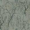 Fotografia, na której jest Fototapeta REBEL WALLS | LA CHINOISERIE Weeping Willows, Jade