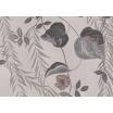 Fotografia, na której jest Fototapeta REBEL WALLS | LA CHINOISERIE Lush Foliage, Rose Dust