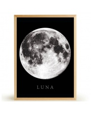 Plakat LUNA - FOX ART STUDIO