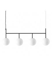Lampa TR BULB rama 4x - MENU | czarna