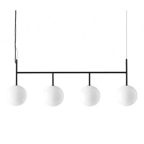 Fotografia, na której jest Lampa TR BULB rama 4x - MENU | czarna