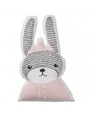 Poduszka z króliczkiem różowa - Bloomingville