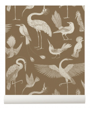 Tapeta ptaki BIRDS sugar kelp - ferm LIVING