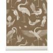 Fotografia, na której jest Tapeta ptaki BIRDS sugar kelp - ferm LIVING
