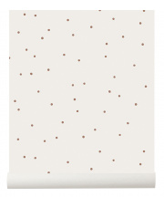 Tapeta w kropki DOT off white - ferm LIVING