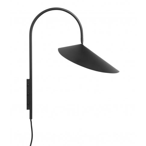 Fotografia, na której jest Lampa ścienna ARUM czarna - ferm LIVING