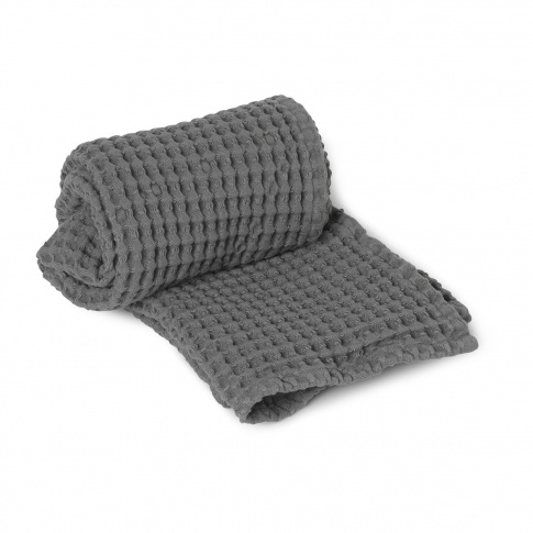 Fotografia, na której jest Ręcznik do rąk ferm LIVING | Grey